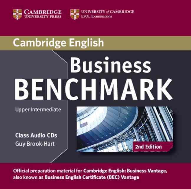 [CD] Business Benchmark Upper Intermediate Business Vantage Class By Brook-Hart, Guy