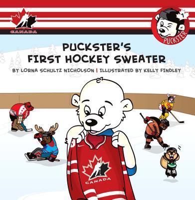 Puckster's First Hockey Sweater By Schultz Nicholson, Lorna